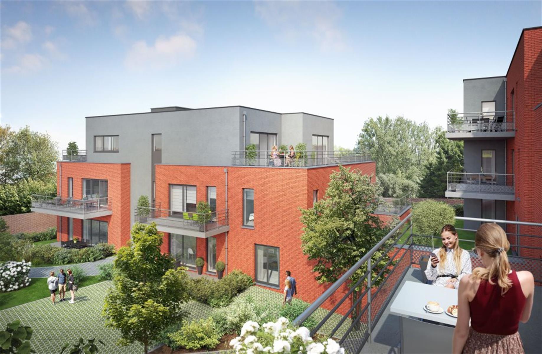 Appartement 2 ch avec terrasse de 17 m² et jardin de 31 m²