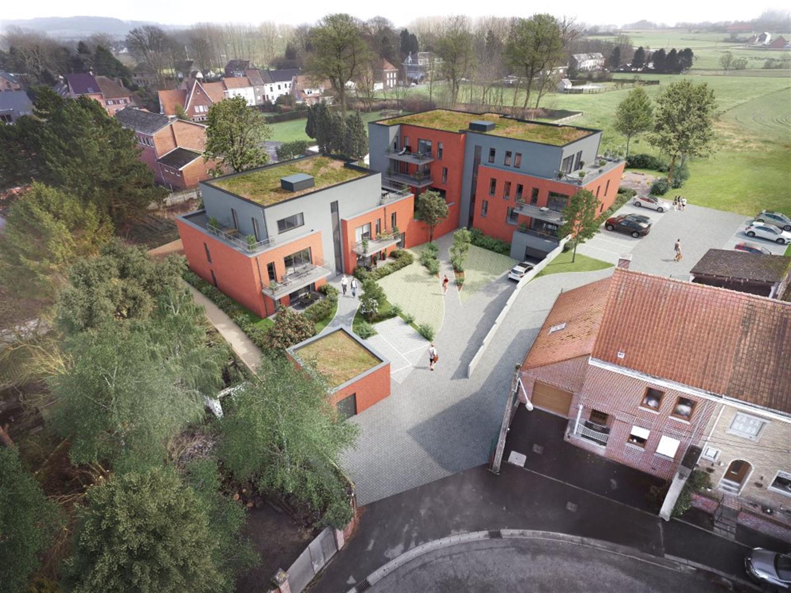 Appartement 2 ch avec terrasse, jardin et 2 emplacements de parking !